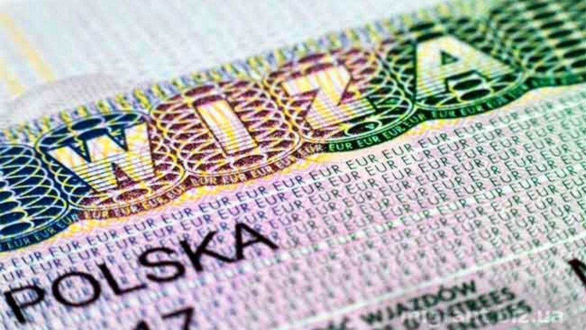 Польша выдала Украинский более полумиллиона виз в 2020 году