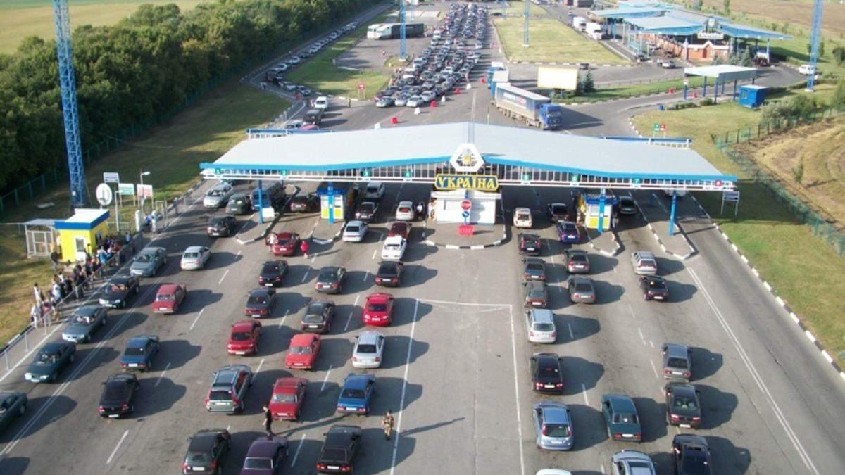 На польско-украинской границе очереди из автомобилей