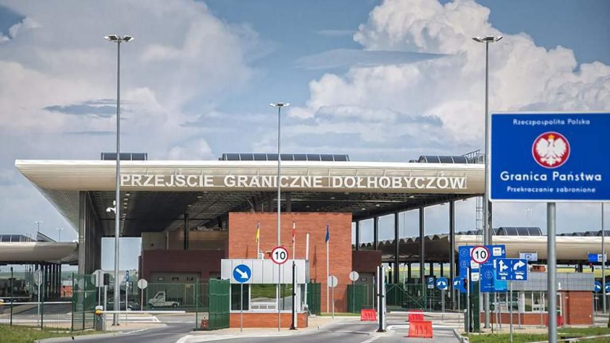 Новые правила при въезде через польскую границу
