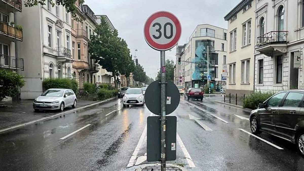Немецкие города хотят большего ограничения скорости на дорогах