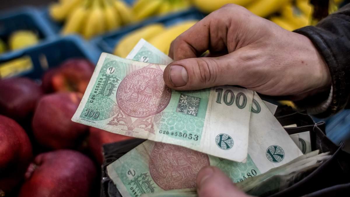 Сколько денег тратят в Чехии