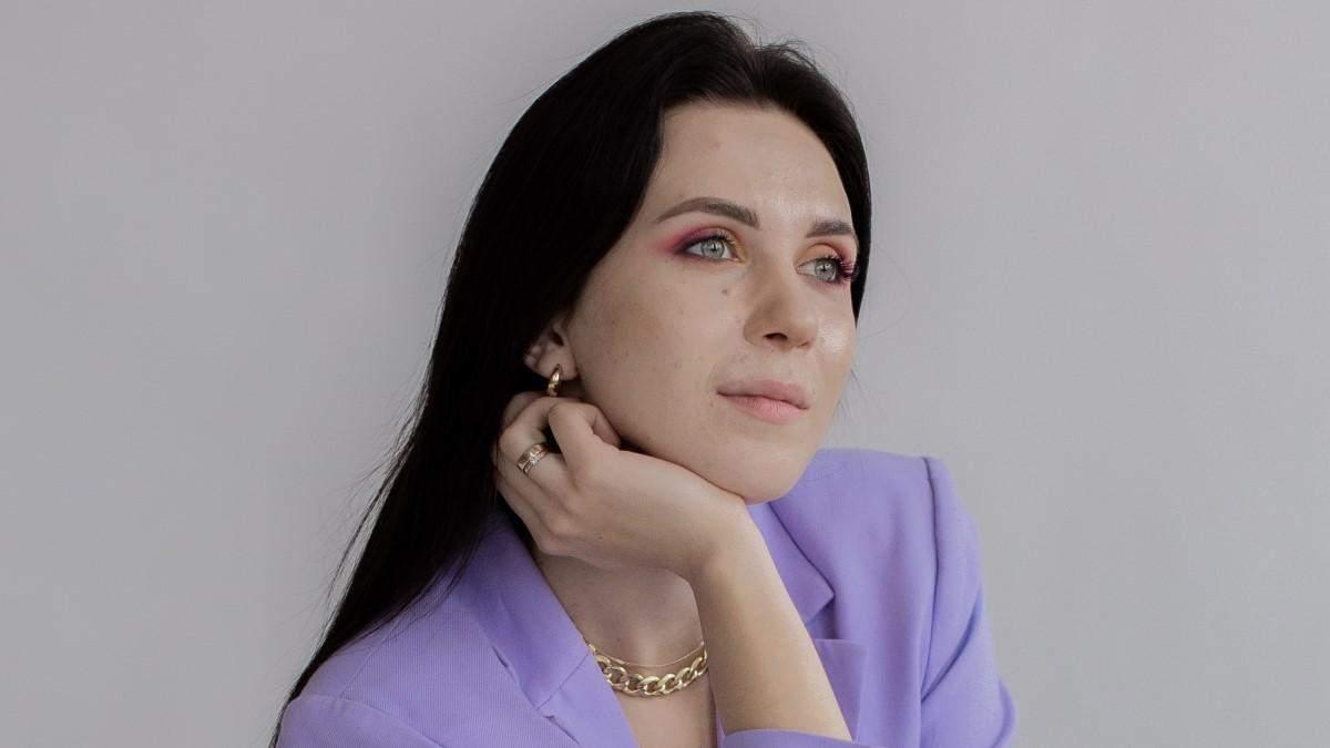 Украинка Анастасия Салюк
