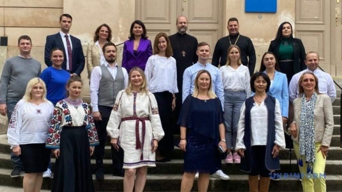 Открытие украинского центра в Вене