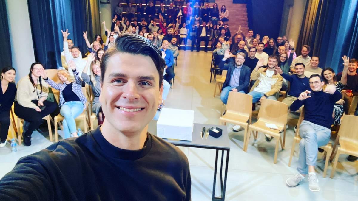 Даумантас Двилинскас, один из четырех основателей TransferGo
