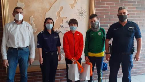 В Польше подростки вернули украинскому эмигранту потерянный кошелек