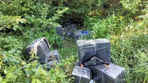 С выстрелами и погоней: на Закарпатье пограничники поймали табачных контрабандистов