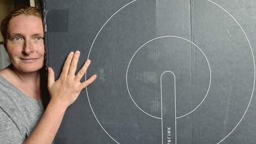 Известная художница из Украины впервые испытала Starlink Илона Маска