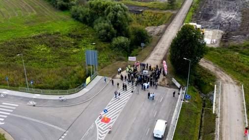 На польсько-українському кордоні розпочали будівництво нового пункту пропуску: фото з місця