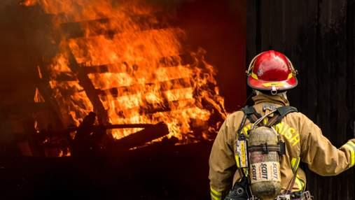 В Польше пожар охватил дом, в котором жили работники из Украины