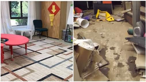 Ураган Ида уничтожил украинский садик возле Нью-Йорка: воспитатели просят помощи диаспоры