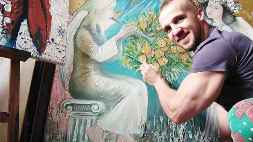 Мій переїзд у Гданськ – це втілення дитячої мрії, – художник та спортсмен з України Василь Нецко