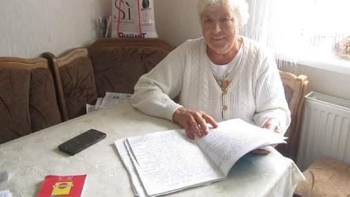 Пенсионерка уехала в Италию и стала писать стихи об Украине: история женщины с Винницкой области