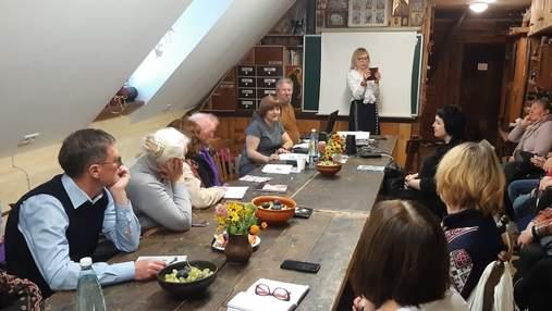 Українська авторка презентувала нову книгу в Естонії