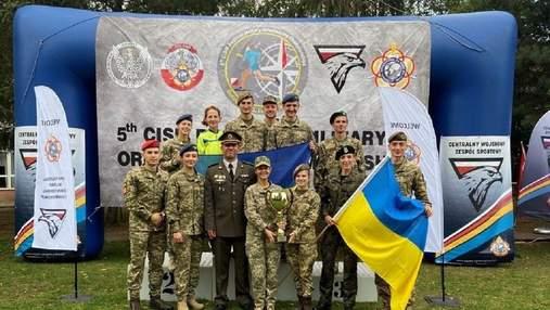 Украинцы завоевали бронзу на военном чемпионате в Польше