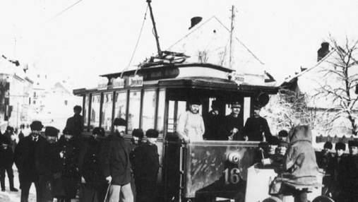 Как выглядели первые львовские трамваи: в Польше нашли архивные фото